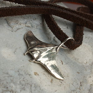 Manta Ray Necklace - necklaces