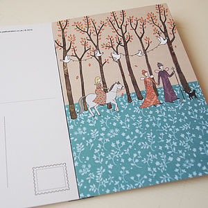 Magic Postcard Book By 'Girls Who Draw' - all purpose cards