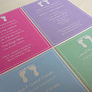 Personalised Christening/Blessing Invitations