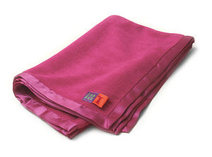 Cuddly Fleece Baby Blanket In Candy Pink - baby care