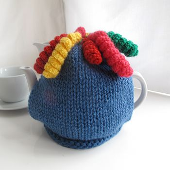Chunky Funky Bright Tea Cosy