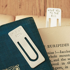 Personalised Bookmark - birthday gifts