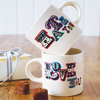 'Love You Hate You' Mug