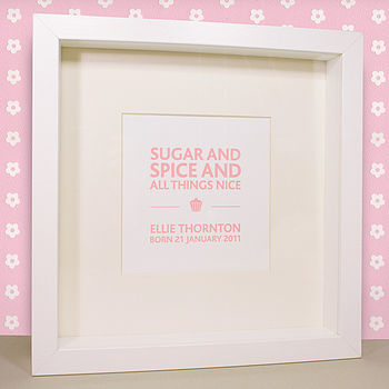 Personalised Children's Letterpress Print