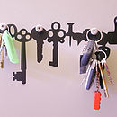 Key Rack Wall Stickers
