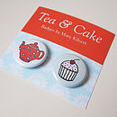 Tea and cake badges