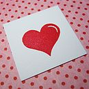 Wedding Heart Rubber Stamp