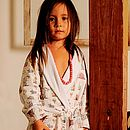 Circus Towelling Lined Dressing Gown