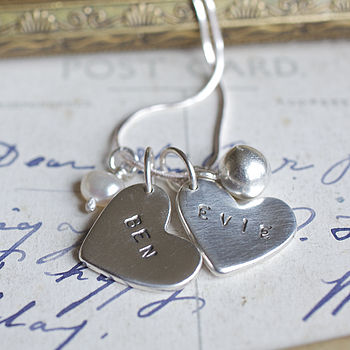 Evie Personalised Charm Necklace