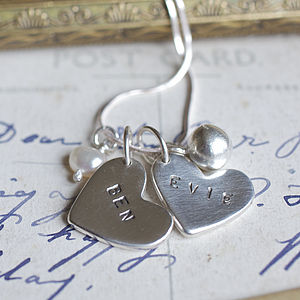 Evie Personalised Charm Necklace - necklaces & pendants