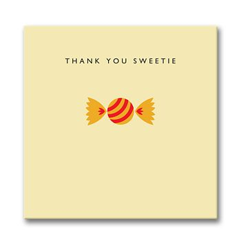 'Thank You Sweetie' Card