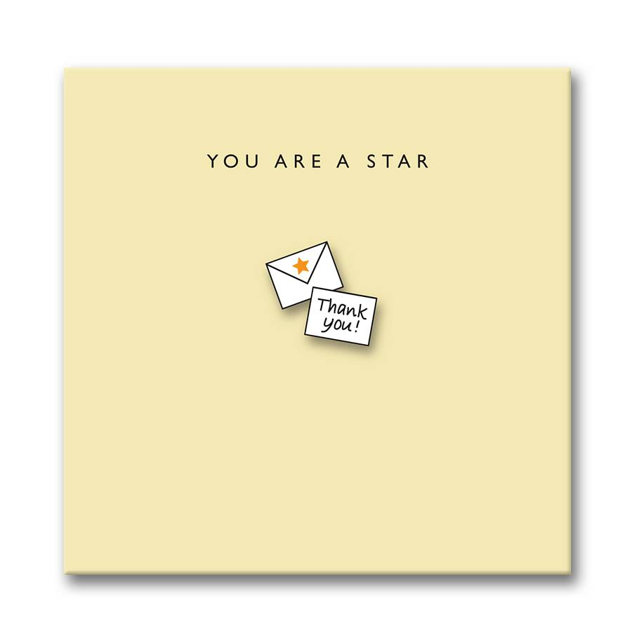 'You Are A Star' Card