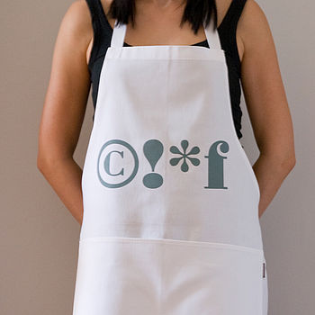 'Frustrated Chef' Apron