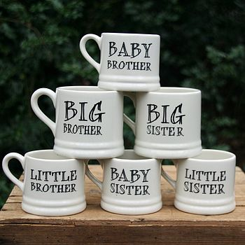 'Brother' Or 'Sister' Mug