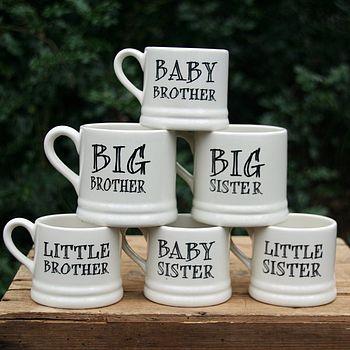 'Brother' Or 'Sister' Mug