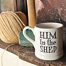 Him in the shed