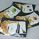Packs of 'Fruit And Veg' Gift Tags
