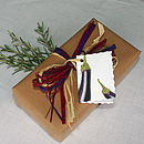 'Fruit And Veg' Gift Tag
