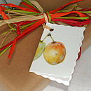 Gift Tag 'Fruit And Veg'