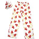 Retro Rocket Pyjama Bottoms