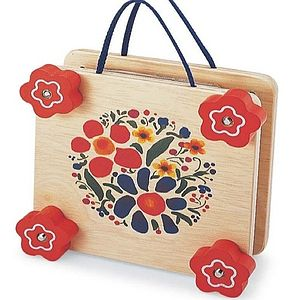 Funky Wooden Flower Press
