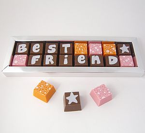 Personalised Chocolates In Small Box - gifts for mothers