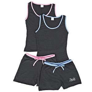 Tank Top And Shorts Set - lounge & activewear