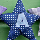 appliqued star (blues)