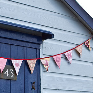 Personalised Mini Bunting - Two Metres - interior accessories