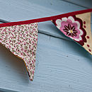 plain mini bunting (pinks)