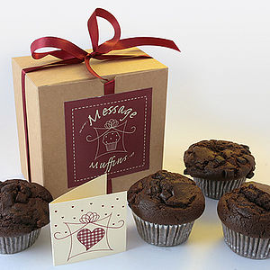 Gift Boxed Chocolate Muffins