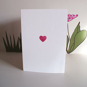 Handprinted Card