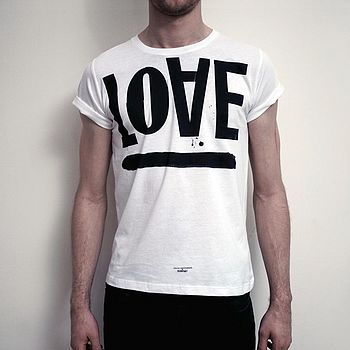 Love Hate Men's T-Shirt