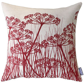 Umbels Cushion: Red