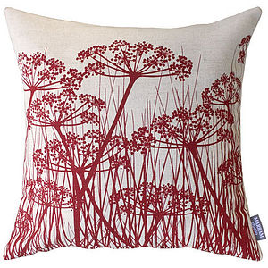 Umbels Linen Cushion - cushions