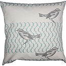 BIRD & EGG CANCAS CUSHION