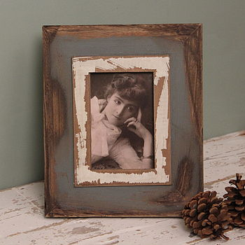 Loft Wooden Photo Frame Small