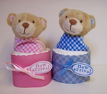 Personalised Teddy Or Doggie Gift Set
