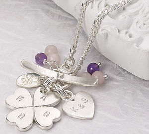 Amor Clover Personalised Classic Necklace