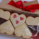 Valentines Celebration Heart Biscuit Box Shortbread