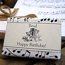 Bespoke & Personalised Soap For Music Lovers