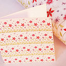 Flower Power Gift Wrap Pack