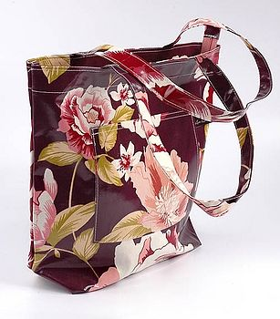 Tilly Plum Oilcloth Limited Edition Tote