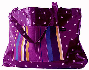 Gracie Oilcloth Weekend Bag