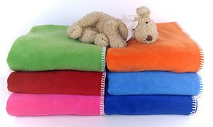 Fleece Cot Blanket - decorative accessories