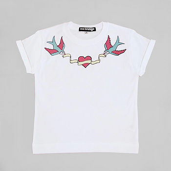 Personalised Swallows Tee