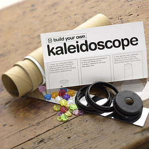 Build Your Own Kaleidoscope - traditional toys & games