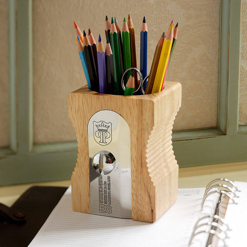 sharpener desk tidy by all things brighton beautiful. Black Bedroom Furniture Sets. Home Design Ideas