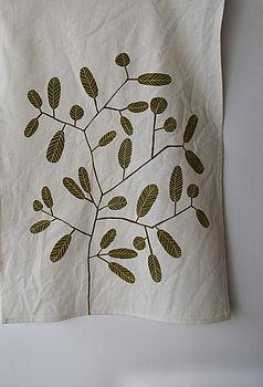 Smokebush Tea Towel