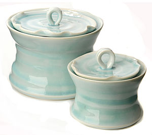 Porcelain Sugar Bowl - storage